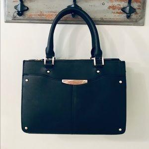 Small black Ann Taylor hand bag